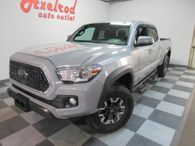2018 Toyota Tacoma SR5 Double Cab TRD Off Road Long Bed V6 6AT 4WD
