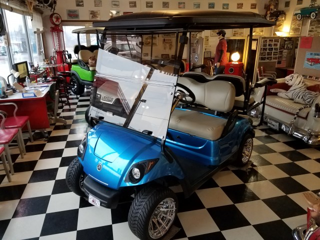 2010 Yamaha Drive gas GOLF CART for sale at Mull's Auto Sales