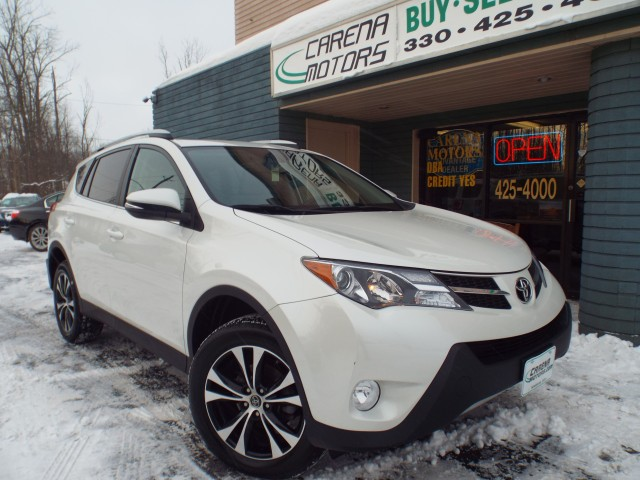 2015 TOYOTA RAV4 LIMITED for sale in Twinsburg, Ohio