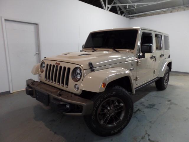 2016 Jeep Wrangler Unlimited Sahara Anniversary 4WD