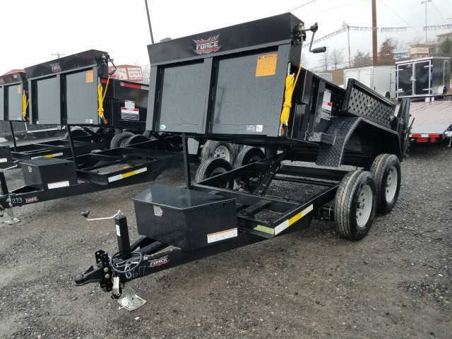 2018 FORCE 10 FOOT DUMP  for sale at Mull's Auto Sales