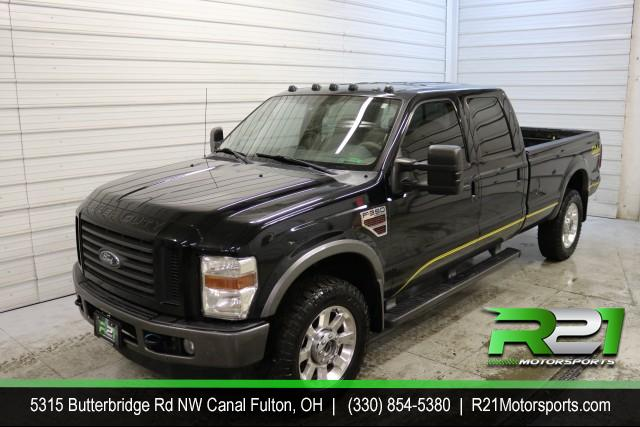 2010 FORD F-350 SD LARIAT - CREW CAB - LONG BED - 4WD - ABSOLUTELY AWESOME DRIVING TRUCK - WE WANT TO MAKE TRUCK DEALS SO CALL 330-854-5380 TODAY!! for sale at R21 Motorsports