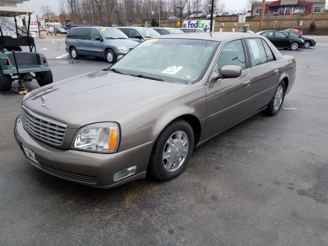 2003 Cadillac Deville Sedan for sale at Mull's Auto Sales