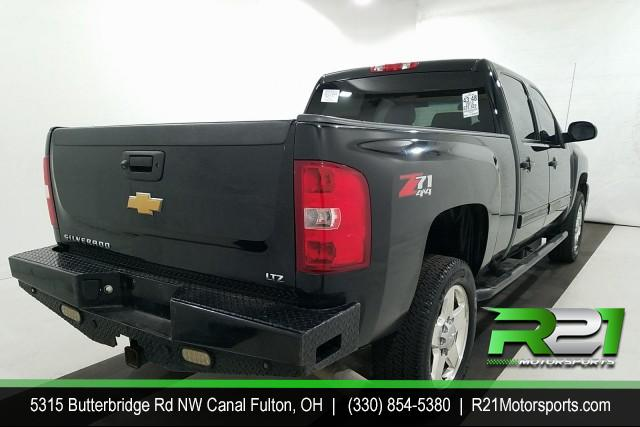 2012 CHEVY SILVERADO 2500HD LTZ- CREW CAB- 4WD - SOUTHERN DURAMAX DIESEL ARRIVING SOON - RUST FREE - CALL 330-854-5380 TO REQUEST PHOTOS! for sale at R21 Motorsports