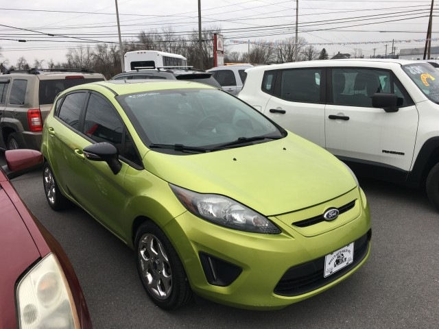 2013 Ford Fiesta Titanium Hatchback for sale at Mull's Auto Sales