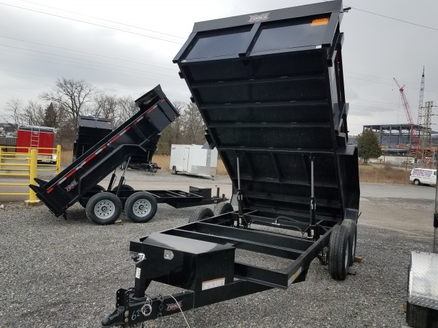 2017 FORCE 12 FOOT DUMP STEEL for sale at Mull's Auto Sales