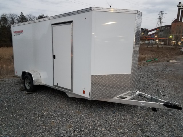 2015 WORTHINGTON 7 X 14 ALUMINUM ENCLOSED for sale at Mull's Auto Sales