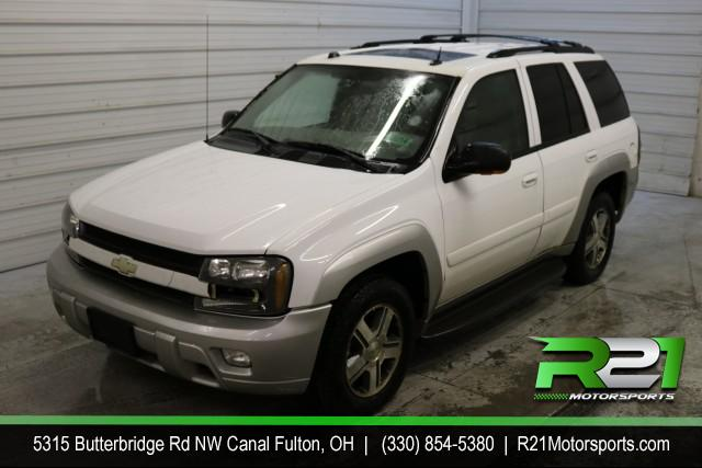 2005 CHEVROLET TRAILBLAZER LS 4WD - RECENT TRADE IN - FULLY SERVICED AND READY TO GO - CALL 330-854-5380! for sale at R21 Motorsports