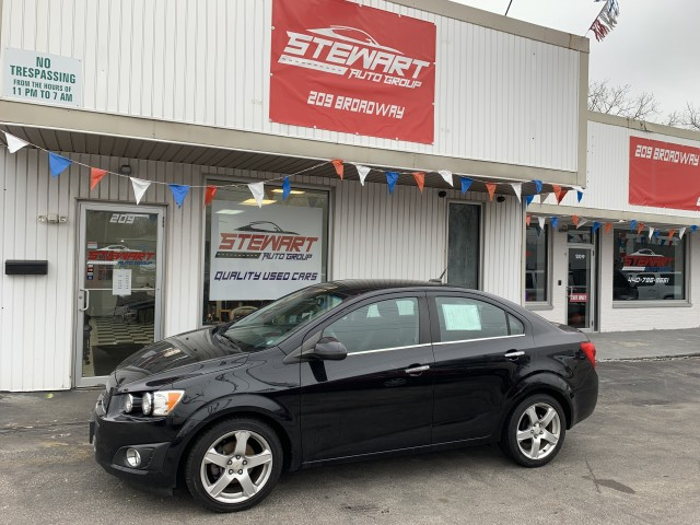 2012 CHEVROLET SONIC LTZ for sale at Stewart Auto Group