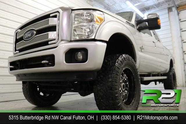 2013 FORD F-250 SD PLATINUM - JUST ARRIVED FROM DOWN SOUTH - RUST FREE! ASK ABOUT OUR DIESEL FINANCE PROGRAM TODAY - 330-854-5380 for sale at R21 Motorsports