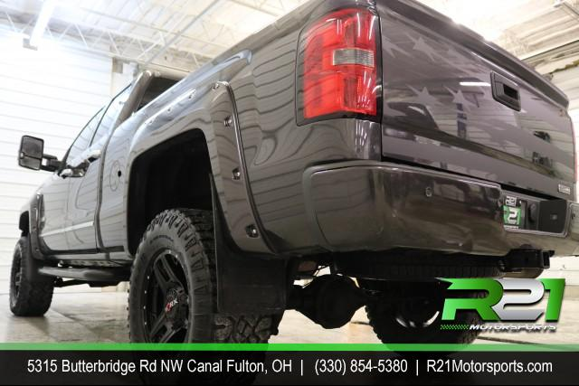 2014 GMC SIERRA 1500 SLE- DOUBLE CAB - 4WD - FRESH TRADE IN - LIFTED - WHEELS - ABSOLUTELY GORGEOUS - CALL 330-854-5380 TODAY FOR DETAILS! for sale at R21 Motorsports