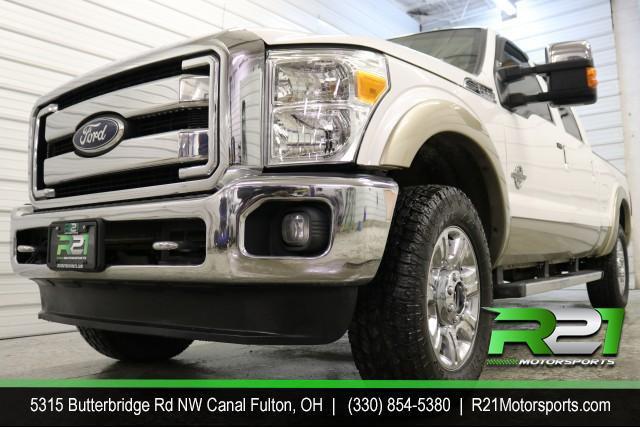 2012 FORD F-250 SD LARIAT - CREW CAB - 4WD - SUPER CLEAN 6.7L DIESEL - JUST ARRIVED - RUST FREE SOUTHERN TRUCK - CALL 330-854-5380 FOR DETAILS! for sale at R21 Motorsports