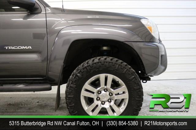 2012 TOYOTA TACOMA  - DOUBLE CAB - V6 - 4WD - TRD SPORT - FRESH TRADE IN  - LIFTED - WHEELS - LOTS OF EXTRAS - FLAWLESS - CALL 330-854-5380 TODAY! for sale at R21 Motorsports