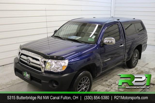 2008 TOYOTA TACOMA REGULAR CAB - 2WD - FRESH TRADE - SUPER LOW MILES - SUPER CLEAN - EXTRA SET OF RIMS & TIRES WITH PURCHASE - CALL US TODAY @ 330-854-5380!! for sale at R21 Motorsports