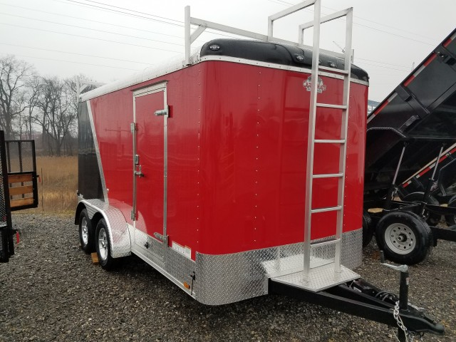 2017 CARGOMATE 7 X 14 ENCLOSED for sale at Mull's Auto Sales