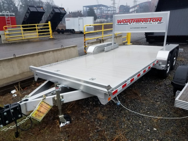 2015 WORTHINGTON CAR TRAILER ALUMINUM  for sale at Mull's Auto Sales