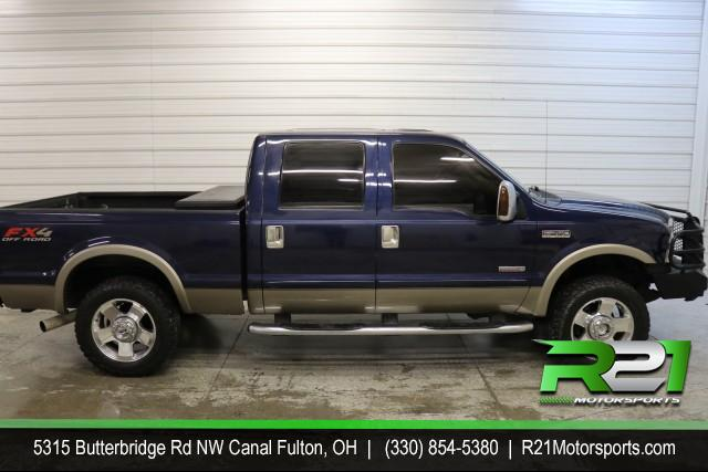 2006 FORD F-250 SD LARIAT- CREW CAB- 4WD- JUST ARRIVED- RUST FREE 6.0L FROM DOWN SOUTH - CALL 330-854-5380 FOR DETAILS AND PHOTOS! for sale at R21 Motorsports