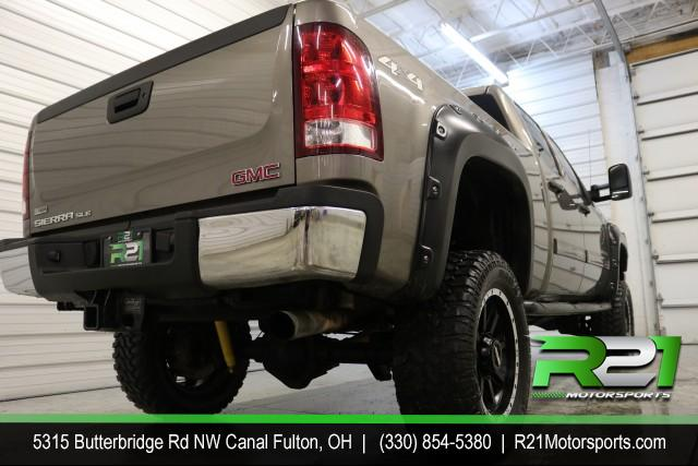 2012 GMC SIERRA 2500HD SLE- CREW CAB- 4WD- JUST ARRIVED FROM DOWN SOUTH - RUST FREE - CALL 330-854-5380 TODAY FOR MORE DETAILS!! for sale at R21 Motorsports