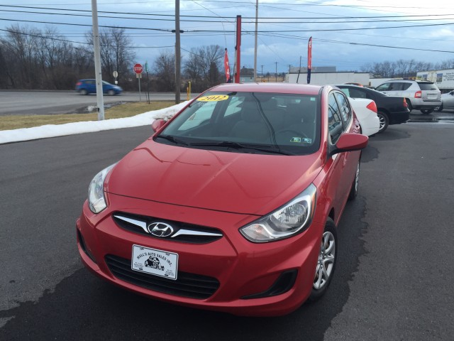 2012 Hyundai Accent GS 5-Door for sale at Mull's Auto Sales