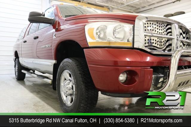 2006 DODGE RAM 2500 LARAMIE - MEGA CAB - 4WD - NEW ARRIVAL - CLEAN CAR FAX - LOW MILES AND PRICED TO MARKET -  CALL 330-854-5380 FOR DETAILS!! for sale at R21 Motorsports