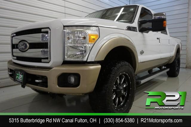 2015 FORD F-250 SD SOUTHERN RUST FREE KING RANCH CREW CAB 4WD 6.7L POWERSTROKE DIESEL for sale at R21 Motorsports