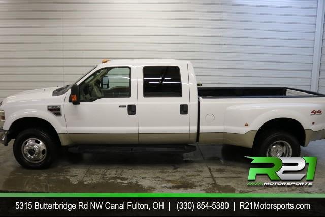 2008 FORD F-350 SD LARIAT - CREW CAB - DUALLY - 4WD - LOW MILES - PRICED TO SELL - CALL 330-854-5380 FOR DETAILS!! for sale at R21 Motorsports