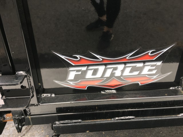 2020 FORCE 6 X 10 DUMP  for sale at Mull's Auto Sales