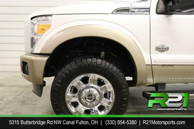 2012 FORD F-350 SD KING RANCH - CREW CAB - 4WD  - ANOTHER RUST FREE SOUTHERN TRUCK - ABSOLUTELY GORGEOUS - CALL 330-854-5380 FOR DETAILS TODAY!! for sale at R21 Motorsports