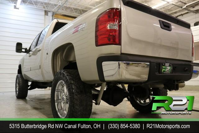2007 CHEVROLET SILVERADO 2500HD LTZ- CREW CAB- 4WD - SOUTHERN DURAMAX - RUST FREE - ASK ABOUT OUR DIESEL FINANCE PROGRAM - CALL 330-854-5380 FOR DETAILS!! for sale at R21 Motorsports