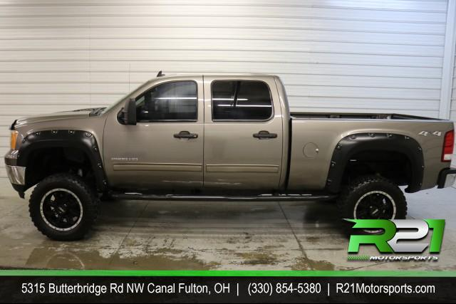 2012 GMC SIERRA 2500HD SLE Crew Cab Short Bed 4WD for sale at R21 Motorsports