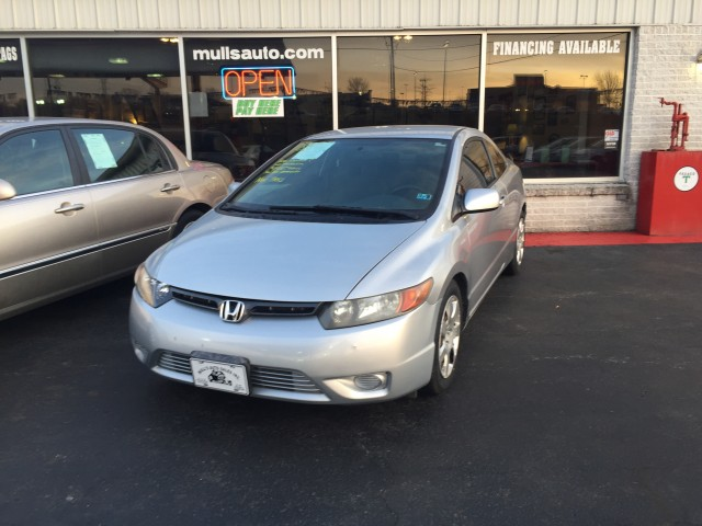 2008 Honda Civic LX Coupe AT for sale at Mull's Auto Sales