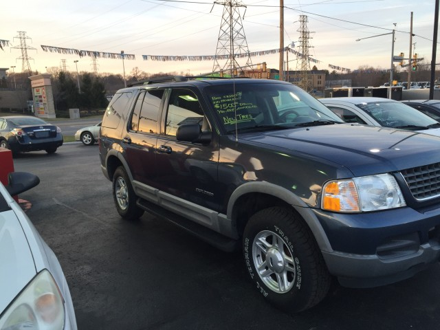 2002 Ford Explorer XLT 4WD for sale at Mull's Auto Sales