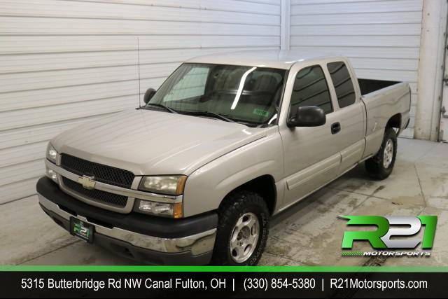 2004 CHEVROLET SILVERADO 1500 EXT CAB - SHORT BED - 4WD - FRESH TRADE - LOW MILES - CALL 330-854-5380 & LETS MAKE A DEAL!! for sale at R21 Motorsports
