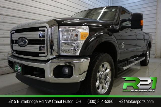 2016 FORD F-350  LARIAT CREW CAB 4WD 6.7L POWERSTROKE DIESEL for sale at R21 Motorsports
