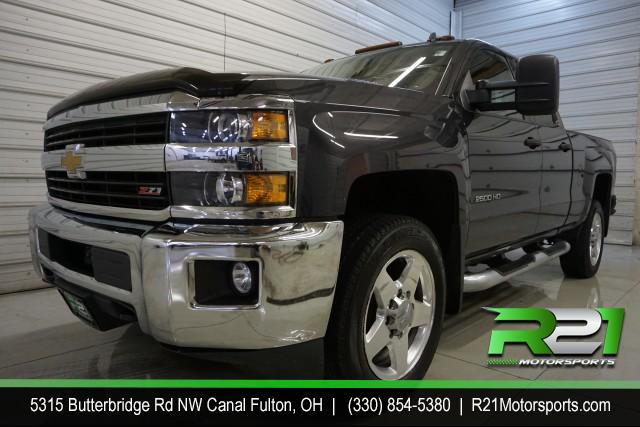 2018 CHEVROLET SILVERADO 3500HD LT CREW CAB 4WD 6.0L GAS TRUCK LONG BED ONE OWNER NO ACCIDENTS OR DAMAGE REPORTED - HARD TO FIND 1 TON GAS TRUCK WITH SINGLE WHEEL for sale at R21 Motorsports