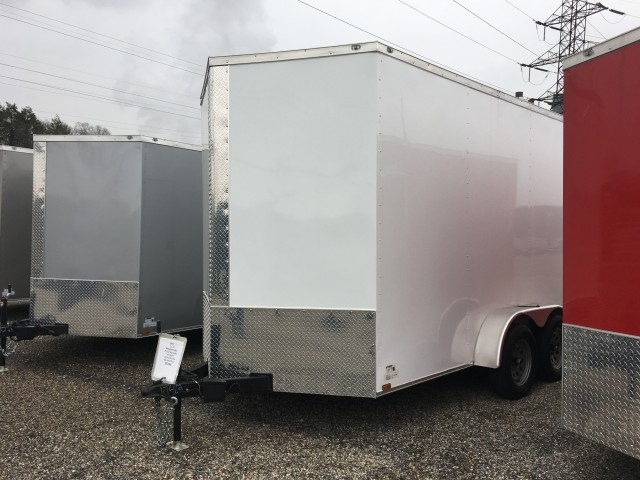 2020 ANVIL 7�12 ENCLOSED RAMP 18 INCHES  for sale at Mull's Auto Sales
