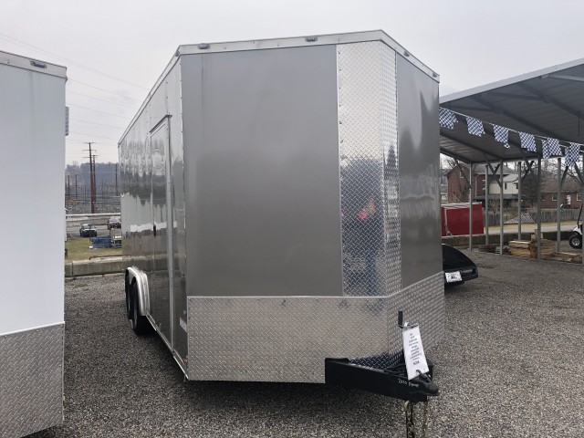 2020 ANVIL 8 x 18 ENCLOSED  for sale at Mull's Auto Sales