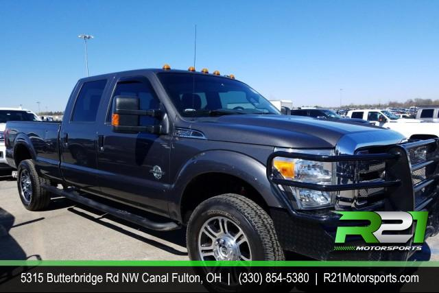 2015 Ford F-350 SD PLATINUM - CREW CAB - 4WD - ARRIVING SOON - RUST FREE SOUTHERN TRUCK JUST IN TIME TO TOW YOUR TOYS - CALL 330-854-5380 FOR DETAILS!! for sale at R21 Motorsports