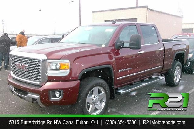 2015 GMC Sierra 2500HD Denali Crew Cab 4WD for sale at R21 Motorsports