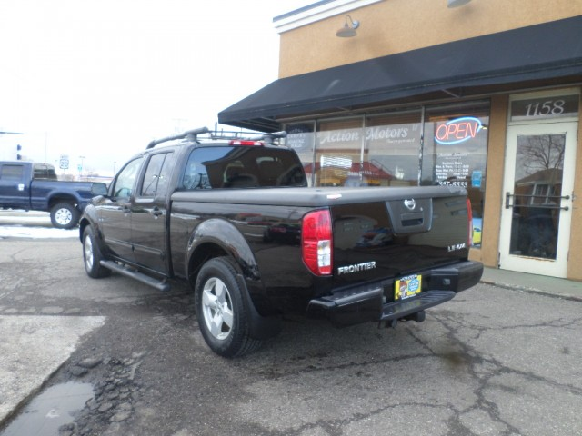 2007 NISSAN FRONTIER CREW CAB LE for sale at Action Motors
