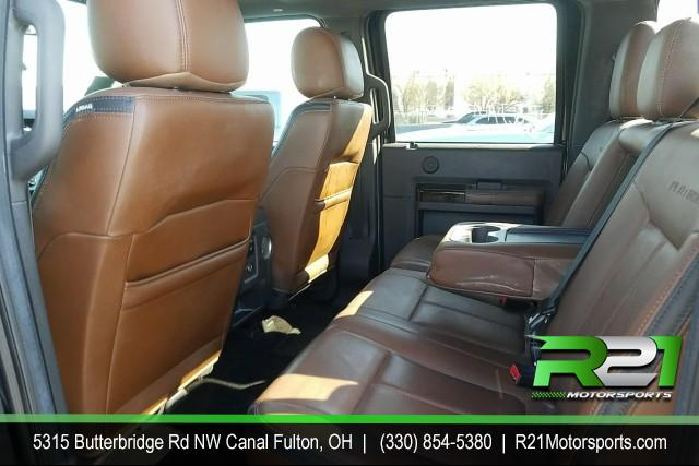 2014 Ford F-250 SD Platinum Crew Cab for sale at R21 Motorsports
