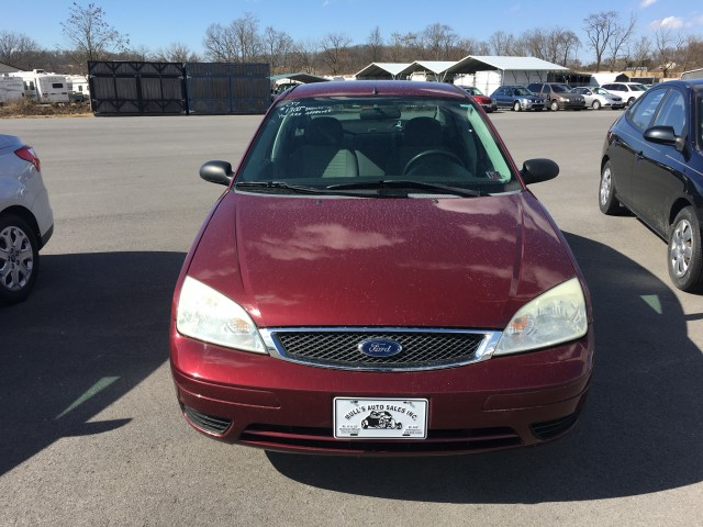 2007 Ford Focus ZX4 S for sale at Mull's Auto Sales