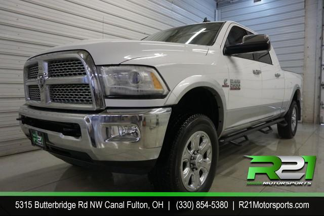 2012 RAM 2500 LARAMIE LONGHORN CREW CAB LEATHER NAVIGATION BACK UP CAMERA 4WD 6.7L CUMMINS DIESEL for sale at R21 Motorsports