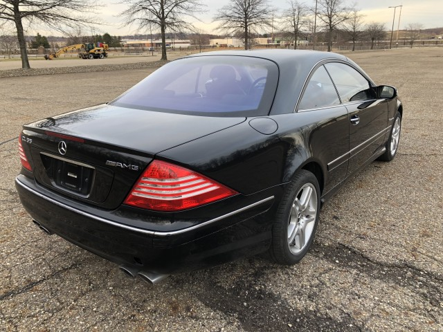 2004 Mercedes Benz Cl Class Cl55 Amg For Sale At Summit Auto Sales