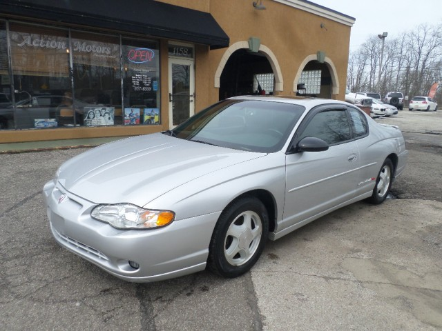2002 CHEVROLET MONTE CARLO SS for sale at Action Motors