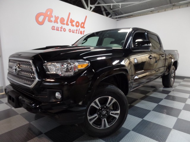 2016 Toyota Tacoma Double Cab Long Bed TRD Sport  V6 Auto 4WD