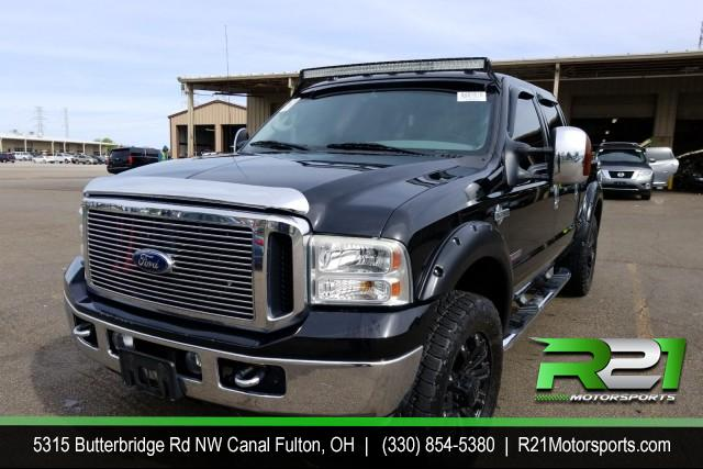 2009 FORD F-350 SD Lariat Crew Cab Long Bed DRW 4WD for sale at R21 Motorsports