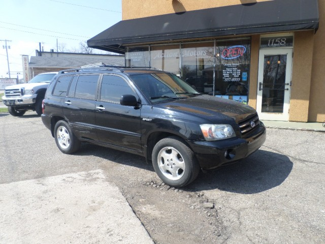 2006 TOYOTA HIGHLANDER LIMITED for sale at Action Motors