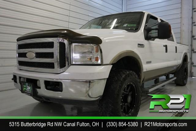 2002 FORD F-150 LARIAT - SUPER CREW - SHORT BED - 4WD - PLOW - TRADE -IN - CALL 330-854-5380!! for sale at R21 Motorsports