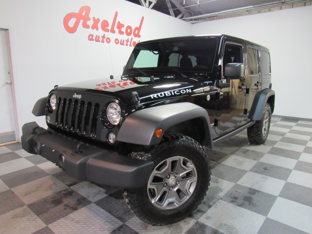2018 Jeep Wrangler JK Unlimited Rubicon 4WD in Cleveland